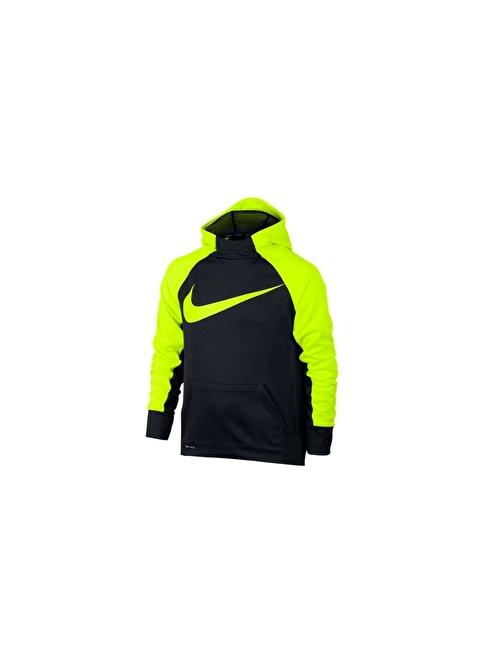 Nike B Nk Thrma Hoodıe Po Siyah